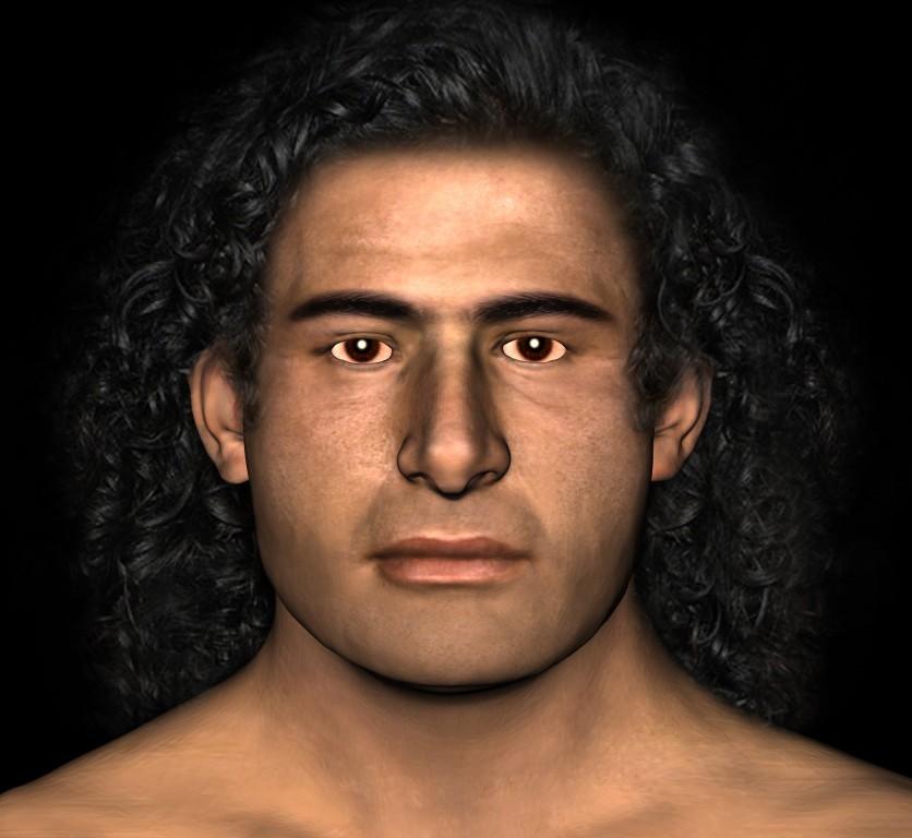 O 'Guerreiro Grifo' grego, ou Esteban Maroto para os íntimos (Foto: University of Cincinnati)