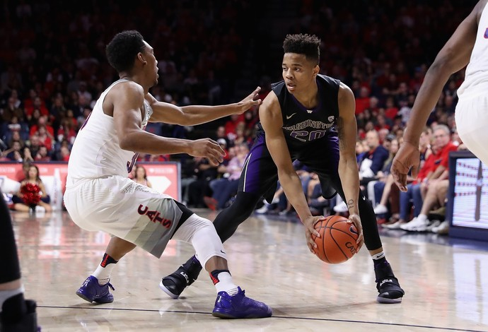 Markelle Fultz, da Universidade de Washington, é alvo do Philadelphia 76ers no draft (Foto: Christian Petersen/Getty Images)