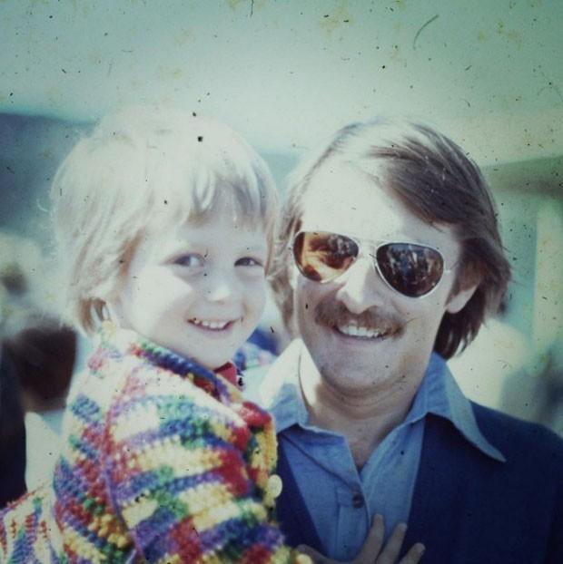 Luciano Huck com seu pai (Foto: Reprodução Instagram)