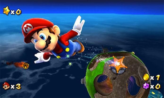 Super Mario Galaxy (Foto: Divulgação)