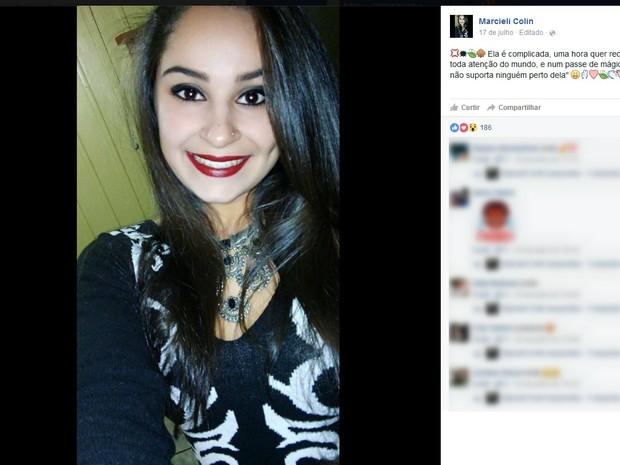 Vítima chegou a ser atendida, mas não resistiu aos ferimentos (Foto: Facebook/Divulgação)