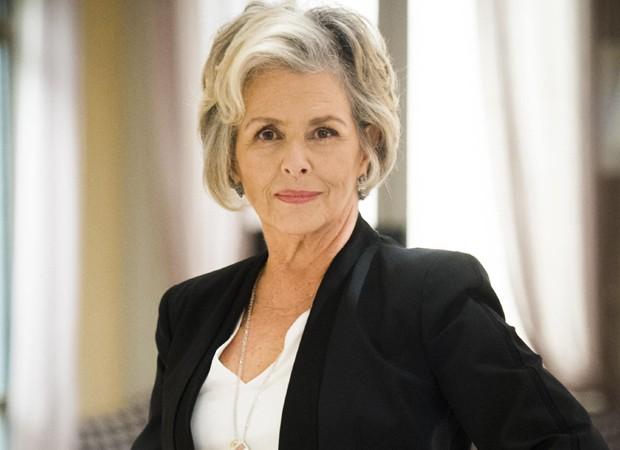 Irene Ravache como a sofisticada Sabine (Foto: Divulgação/TV Globo)