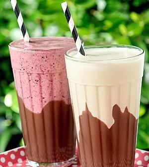 Milk-shake com brigadeiro (Foto: Divulgação)