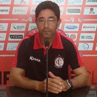 Sérgio China, Campinense (Foto: Divulgação / Campinense)