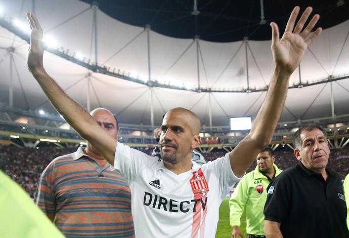 veron Estudiantes x San Lorenzo (Foto: Getty Images)