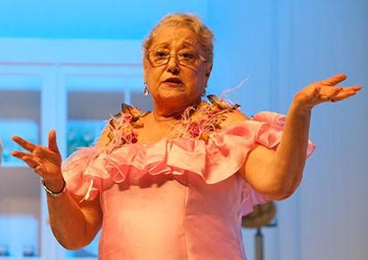 Suely Franco interpretou uma empregada na comédia que permaneceu décadas em cartaz (Foto: Divulgação)