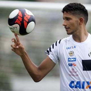 Yuri - Santos (Foto: Ivan Storti/Divulgação Santos FC)