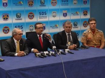 Polícia deu detalhes da investigação nesta quarta (16) (Foto: Katherine Coutinho/ G1)