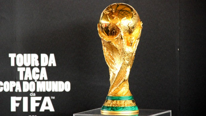 taça copa do mundo (Foto: João Paulo Maia)