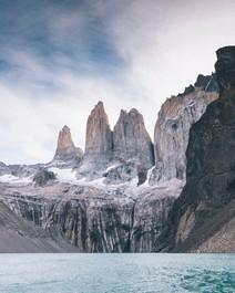 Explore paisagens na Patagônia