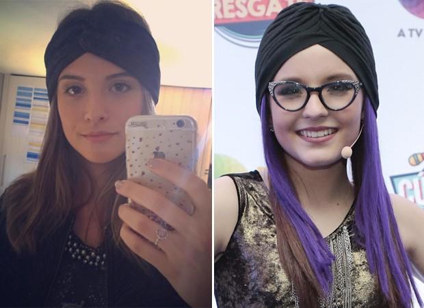 Juliana Paiva e Larissa Manoela (Foto: Reprodução/Instagram e Rafael Cusato/Brazil News)