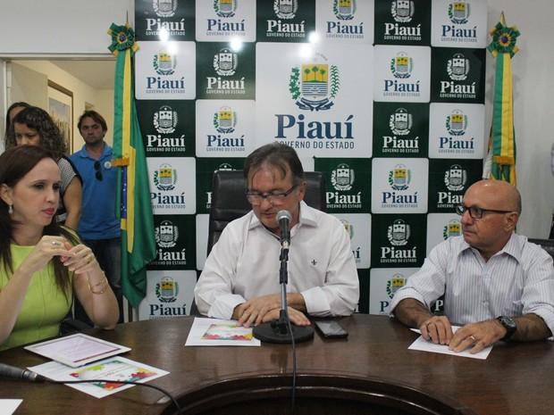 Secretário de governo destacou benefícios entre concessão público-privado (Foto: Catarina Costa/G1)