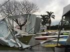Temporal prejudica mais de 2,5 mil pessoas no Paraná, diz Defesa Civil