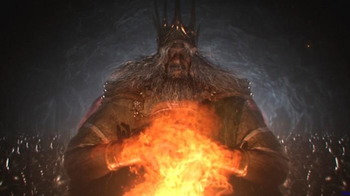 Lord Gwyn, pai de Dark Sun Gwyndolin (Foto: Divulgação)
