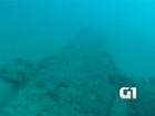 Vídeo mostra avião que caiu em praia de Natal durante a 2ª Guerra Mundial