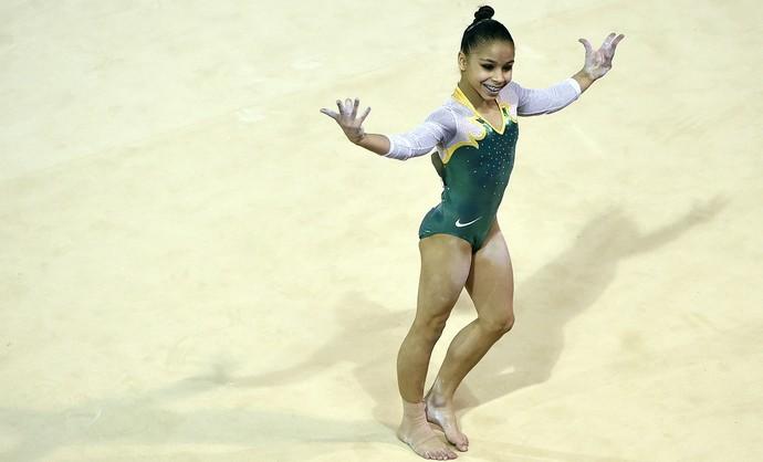Flavia Lopes Saraiva bronze Pan-Americano (Foto: Eric Bolte/Reuters)