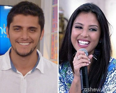 Bruno Gissoni e Yanna Lavigne (Foto: Encontro com Fátima Bernardes/TV Globo)