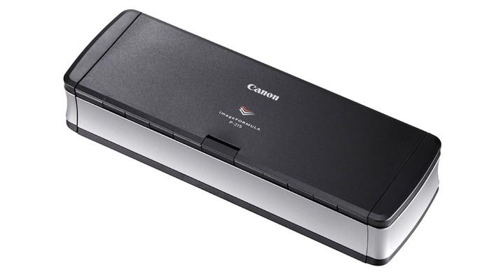 Scanner portátil da Canon digitaliza até 15 folhas por minuto (Foto: Divulgação)