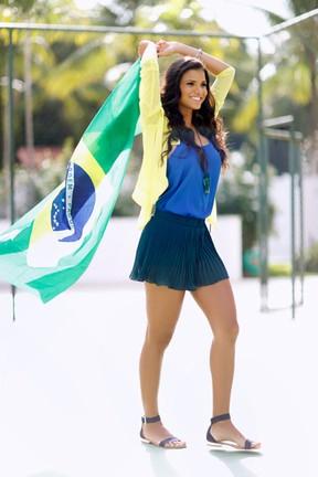 Jakelyne de Oliveira, Miss Brasil 2013, posa para o EGO (Foto: Marcos Serra Lima / EGO)