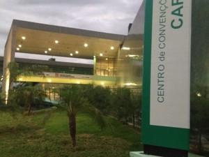 Centro de Convenções do Cariri será inaugurado nesta quinta-feira, no CE (Foto: Foto: Divulgação)