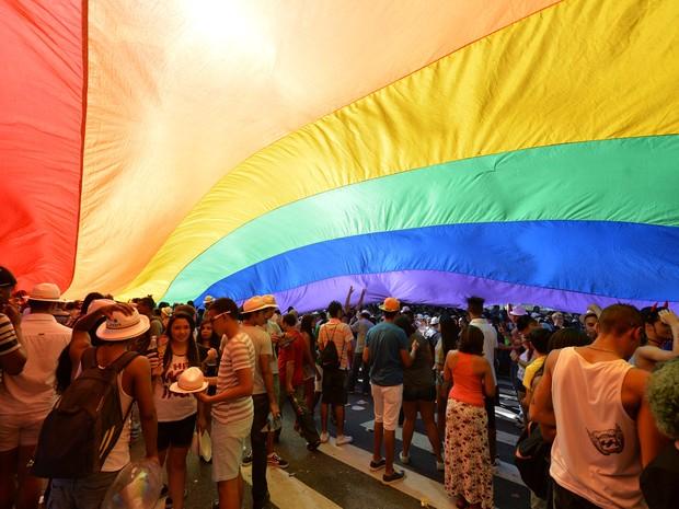 Parada Gay São Paulo (Foto: Nelson Almeida/AFP)