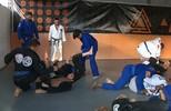 Atletas dos Emirados Árabes estão em João Pessoa para intercâmbio de jiu-jitsu