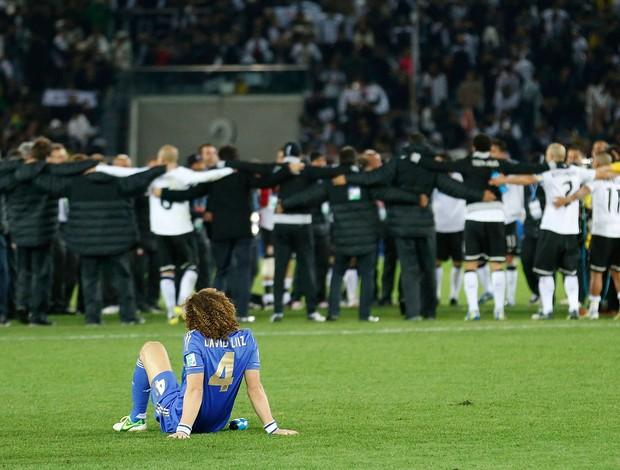 David Luiz na partida do Chelsea no Mundial contra o Corinthians AP (Foto: AP)