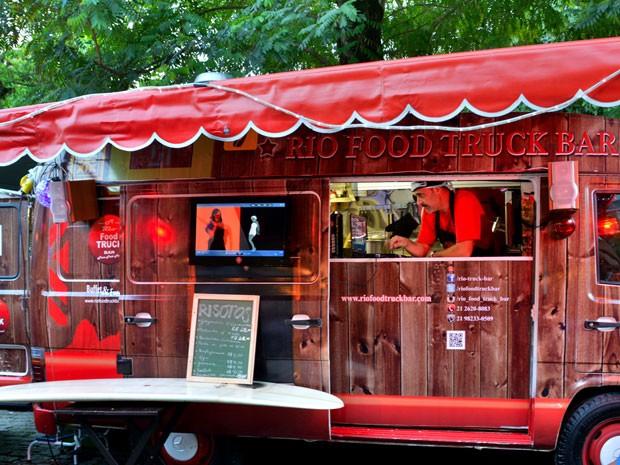 Caminhões restaurante já fazem sucesso em várias cidades do mundo (Foto: Roberto Price / Divulgação)