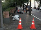 Motociclista morre 