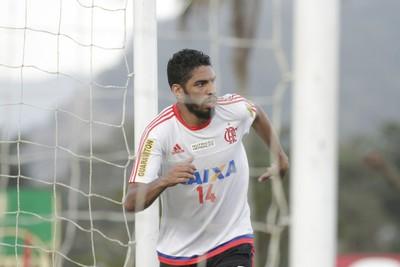 Wallace, Flamengo, treino dia 18/08 (Foto: Gilvan de Souza / Flamengo)
