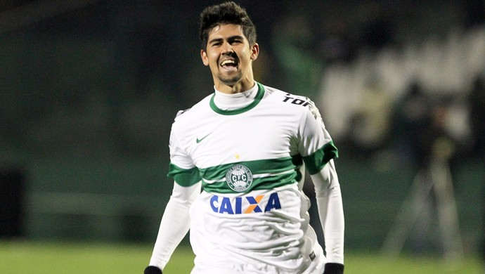 Leandro Almeida Coritiba (Foto: Divulgação / Site oficial do Coritiba)