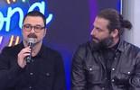 Henri Castelli e Emilio Orciollo Netto acertam primeira a música no Ding Dong