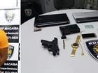 Fugitivo do Ceará é recapturado no RN com pistola roubada