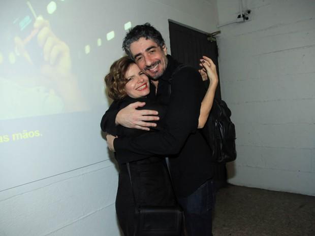 Debora Bloch e Michel Melamed em peça em São Paulo (Foto: Marcos Ribas/ Brazil News)