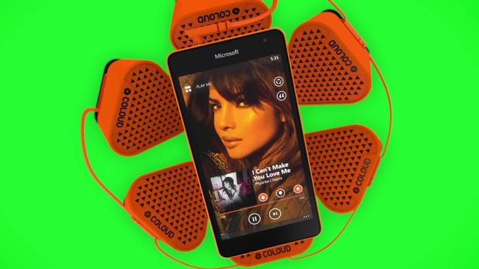 Lumia 535 chega equipado com o novo Windows Phone 8.1 Denim (Foto: Divulgação/Microsoft)