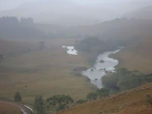 Frio toma conta da paisagem em São José dos Ausentes, RS (Foto: Caetanno Freitas/G1)