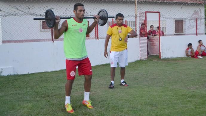Elandio Vidal, irmão de Hernane Brocador - América-RN (Foto: Jocaff Souza)