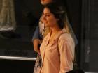 Sasha passeia com amigas em shopping no Rio