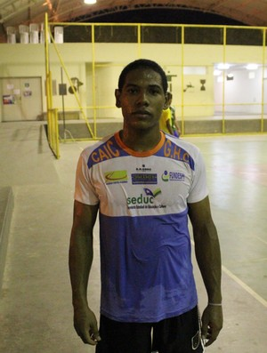 Silvestre Silva, handebol do Piauí (Foto: Wenner Tito)