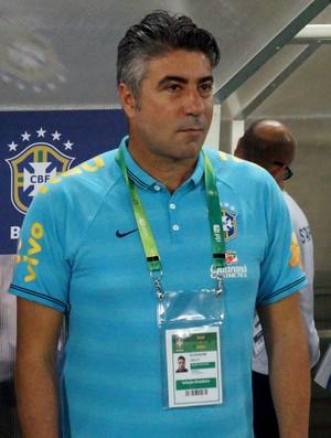 Treinador Alexandre Gallo  (Foto: Pedro Lima/Divulgação)