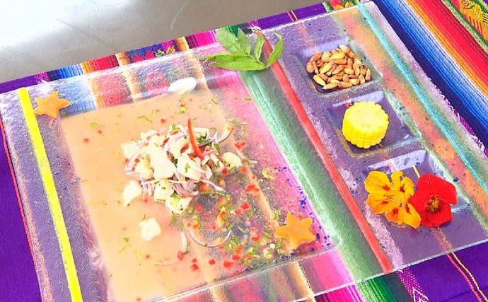 Tradicional Ceviche Peruano (Foto: Reprodução/ RPC)