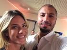 Ex-BBB Fernando tieta Giovanna Ewbank: 'Nem precisa de filtro'