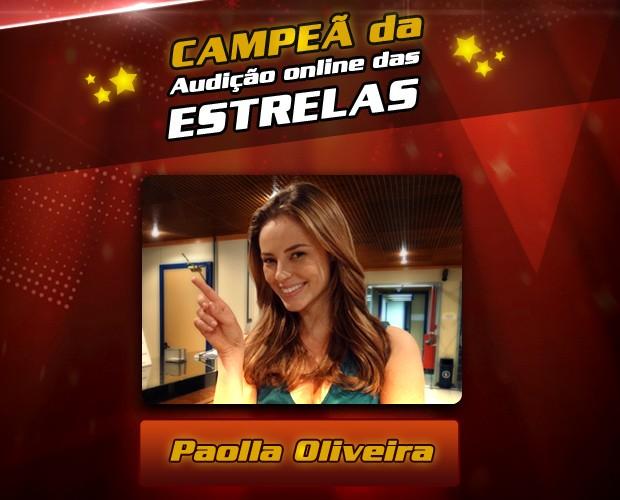 Vencedora (Foto: The Voice Brasil/ TV Globo)