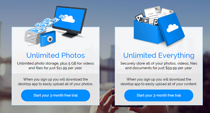 Amazon não cobra caro para salvar fotos em tamanho original (Foto: Divulgação)