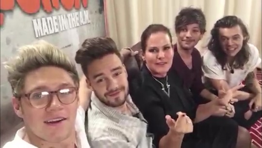 Fantástico entrevista One Direction no México
