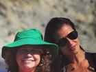 Paula Morais homenageia a 'sogra', mãe de Ronaldo: 'Sou muito sortuda'