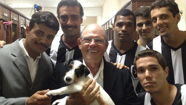 Série do Globo Esporte RJ que conta a história dos clubes cariocas (Foto: TV Globo/ Reprodução)