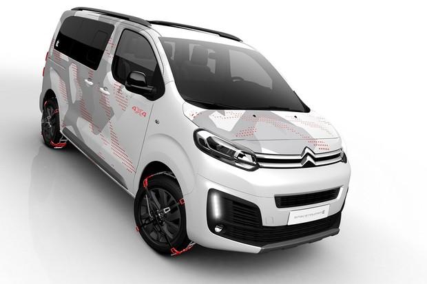 Citroën SpaceTourer 4x4 Ë Concept (Foto: Citroën)