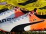 Sapatilha? Fornecedora de material divulga chuteira personalizada de Bolt
