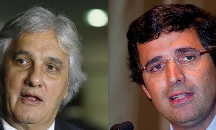 Delcídio Amaral e André Esteves  (Foto: Montagem)